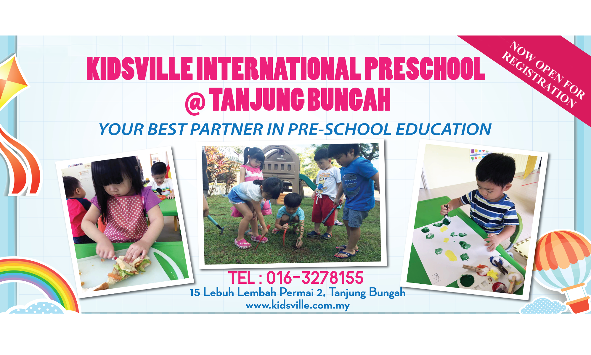 Welcome To Kidsville International Preschool